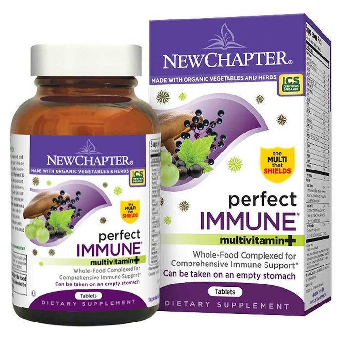New Chapter Vitamins, Minerals, Herbs & More New Chapter Perfect Immune 72 Tabs (581383520300)