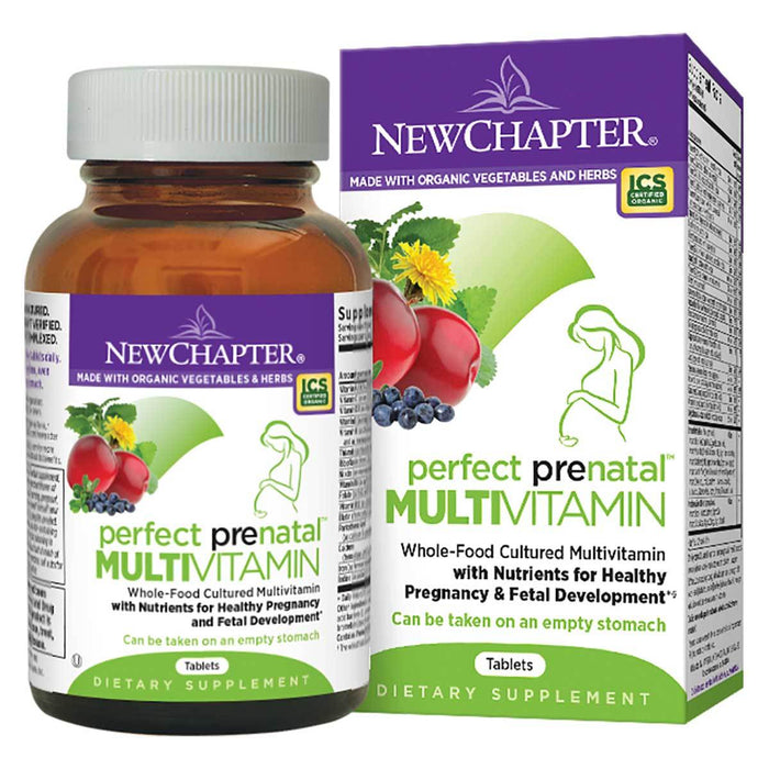 New Chapter Vitamins, Minerals, Herbs & More New Chapter Perfect Prenatal Multivitamin 192 Tabs (581199626284)