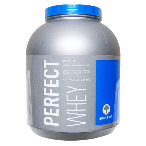 Nature's Best Sports Nutrition & More Vanilla Nature's Best Perfect Whey 5 Lbs (580654759980)