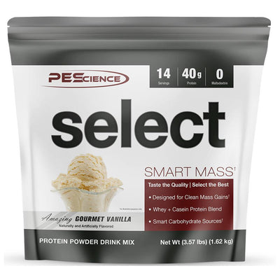 PEScience Protein Powders Amazing Gourmet Vanilla PEScience Select Smart Mass 14 Servings (1740784762924)