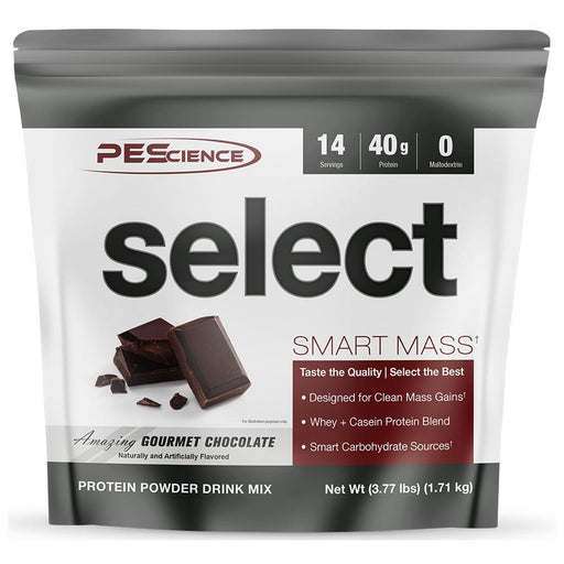 PEScience Protein Powders Amazing Gourmet Chocolate PEScience Select Smart Mass 14 Servings (1740784762924)