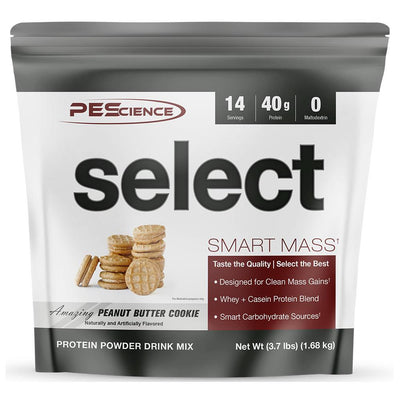 PEScience Protein Powders Amazing Peanut Butter Cookie PEScience Select Smart Mass 14 Servings (1740784762924)