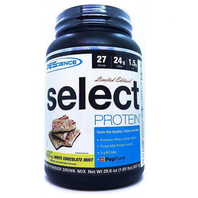 PEScience Protein Powders White Chocolate Mint PEScience Select Protein 27 Servings (581928288300)