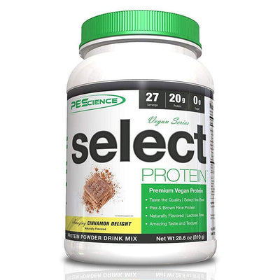 PEScience Protein Powders Amazing Cinnamon Delight PEScience Select Vegan Protein 27 Servings (582503170092)