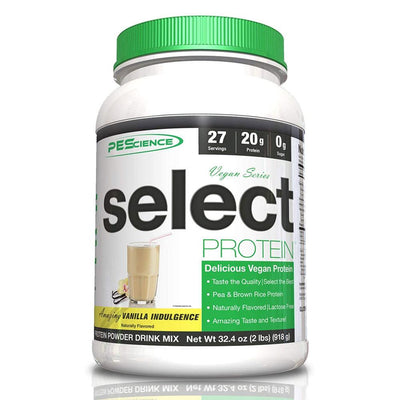 PEScience Protein Powders Amazing Vanilla Indulgence PEScience Select Vegan Protein 27 Servings (582503170092)
