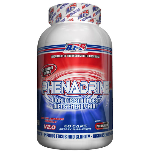APS Nutrition Sports Nutrition & More APS Nutrition Phenadrine 60 Caps (581537333292)