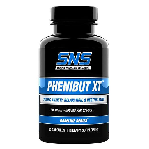Serious Nutrition Solutions Vitamins, Minerals, Herbs & More Serious Nutrition Solutions Phenibut XT 90 Caps (581282136108)