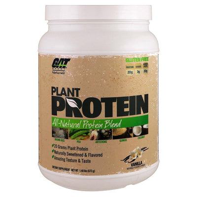 GAT Protein Powders Vanilla GAT Plant Protein 20 Servings (1393090002988)