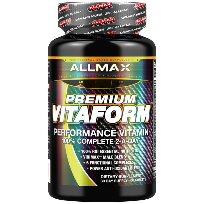 Allmax Nutrition Vitamins, Minerals, Herbs & More Allmax Nutrition VitaForm Men's Multi-Vitamin 60 Tabs (581322375212)