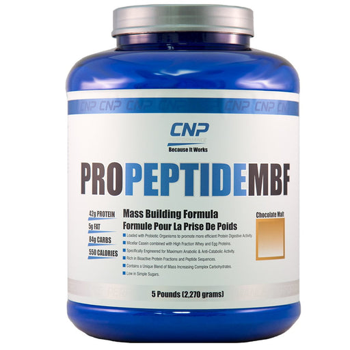 CNP Professional Sports Nutrition & More Chocolate Malt CNP Professional ProPeptide MBF 5 Lbs (580616749100)
