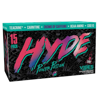 Pro Supps Drinks VIBES BERRY COLADA Pro Supps Hyde Power Potion 15/Cans (1635540828204)