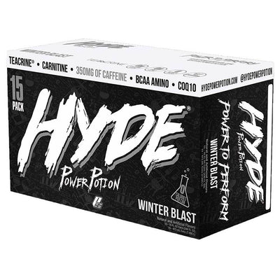 Pro Supps Drinks WINTER BLAST Pro Supps Hyde Power Potion 15/Cans (1635540828204)