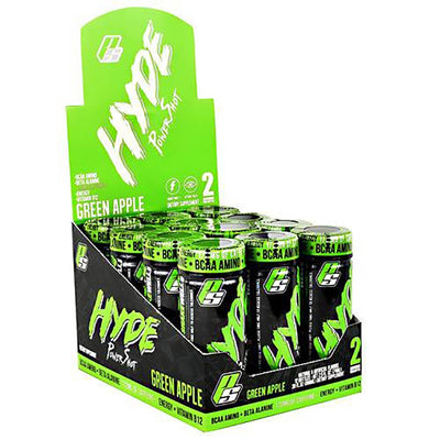 Pro Supps Drinks GREEN APPLE Pro Supps Hyde Power Shot 12 EA (1742506885164)