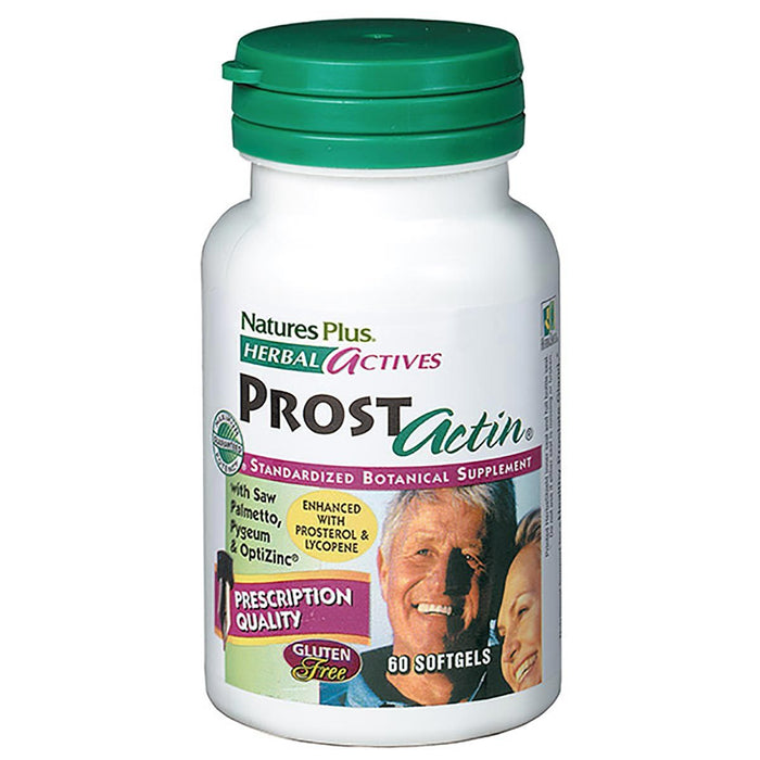 Nature's Plus Vitamins, Minerals, Herbs & More Nature's Plus Prostactin 60 Soft Gels (580552032300)