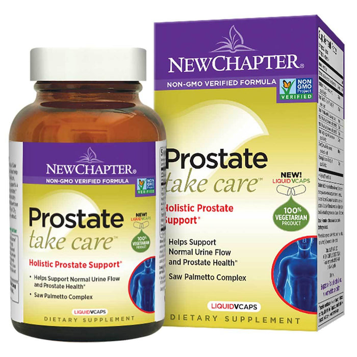 New Chapter Vitamins, Minerals, Herbs & More New Chapter Prostate Take Care 60 Softgels (581456396332)
