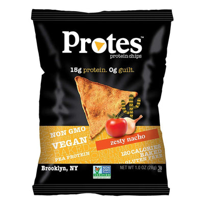 PROTES Foods Juices Spicy Chili Lime Protes Protein Chips 24/Box 1oz Bags