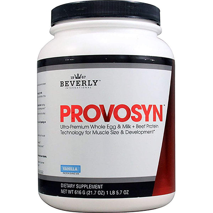 Beverly International Sports Nutrition & More Vanilla Beverly International Provosyn Protein 616 Grams (581395677228)