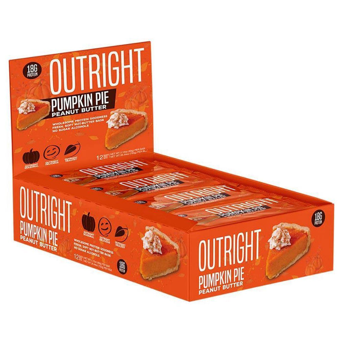 MTS Nutrition Bars Pumpkin Pie Peanut Butter MTS Nutrition Outright Bar 12/Box (3899430764588)