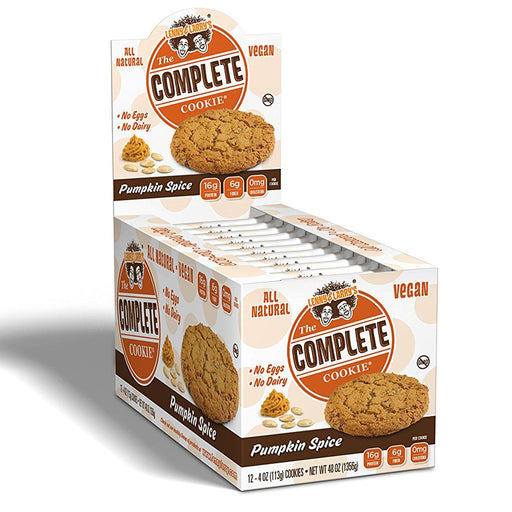 Lenny & Larry's Vitamins, Minerals, Herbs & More Pumpkin Spice Lenny & Larry's Complete Cookie 12/Box (582451494956)