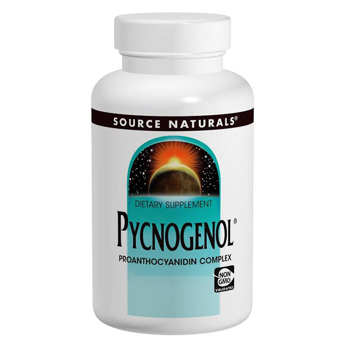 Source Naturals Vitamins, Minerals, Herbs & More Source Naturals Pycnogenol 50mg 30 Tabs (580976082988)