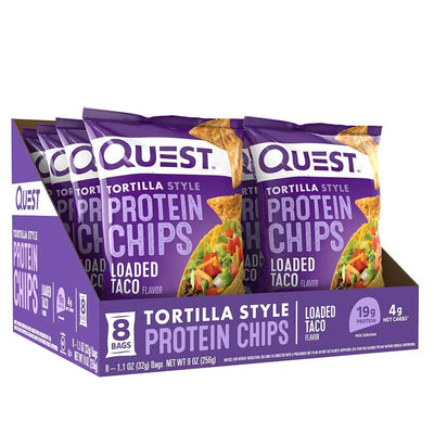 Quest Nutrition Foods & - Juices Taco Quest Protein Tortilla Chips 8/Box (1104453500972)