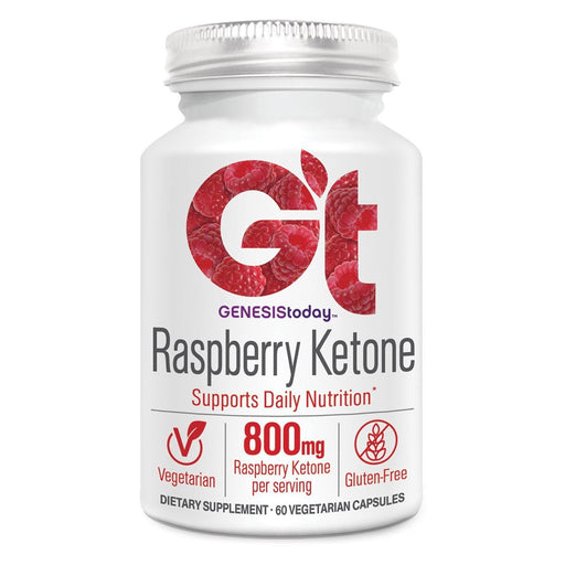 Genesis Today Sports Nutrition & More Genesis Today Pure Raspberry Ketone 60 Vege Caps (581671845932)