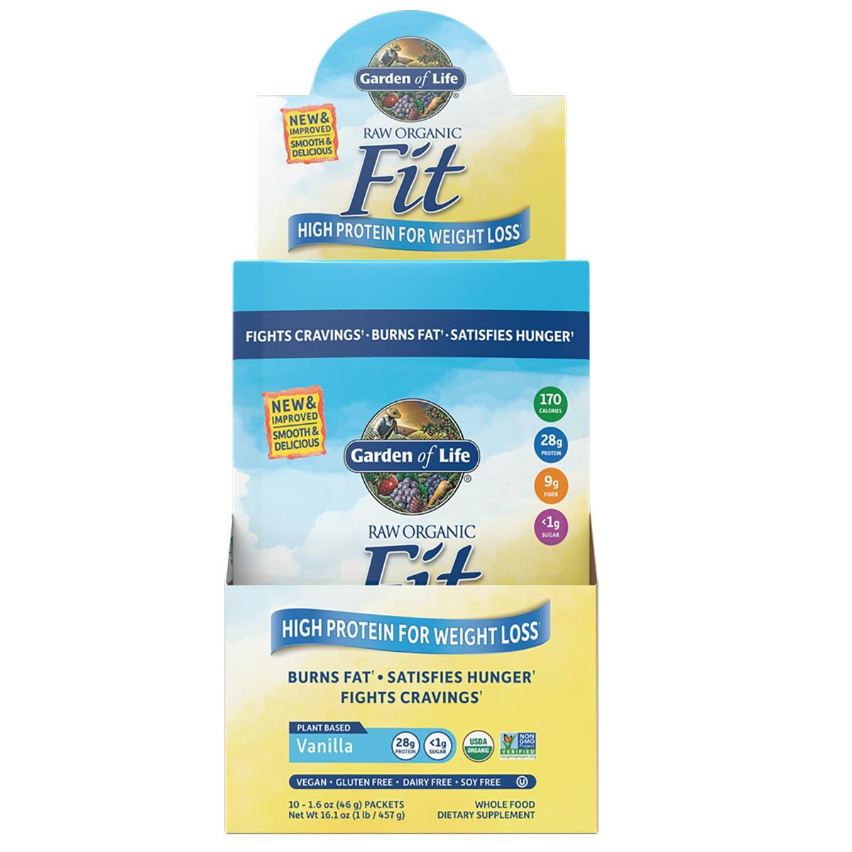 garden of life fit. Garden Of Life Raw Fit Packets 10/Box I
