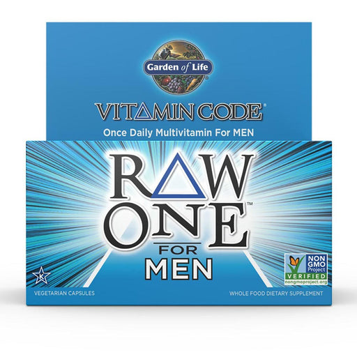 Garden of Life Vitamins, Minerals, Herbs & More Garden of Life Vitamin Code Raw One for Men 75 Caps (581190320172)