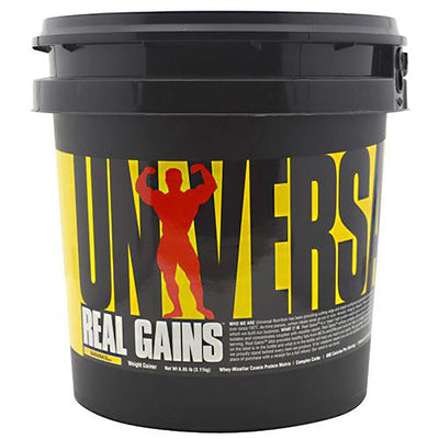 Universal Sports Nutrition & More Banana Universal Real Gains 6.85 Lbs