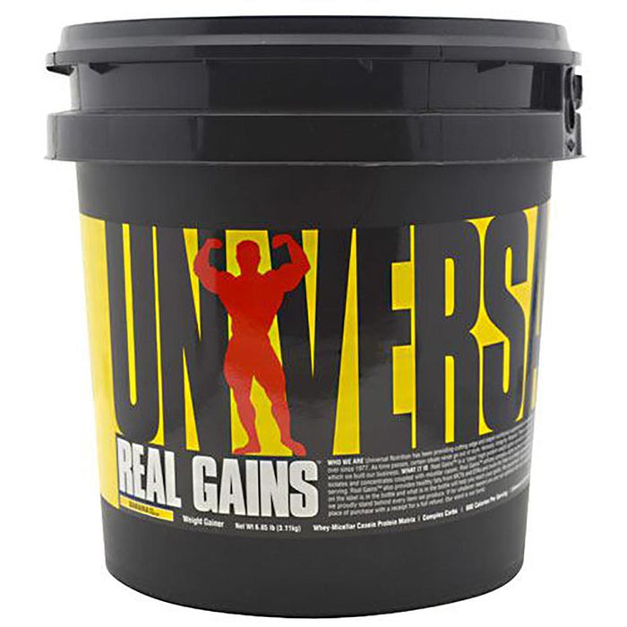 Universal Sports Nutrition & More Banana Universal Real Gains 6.85 Lbs (580731699244)