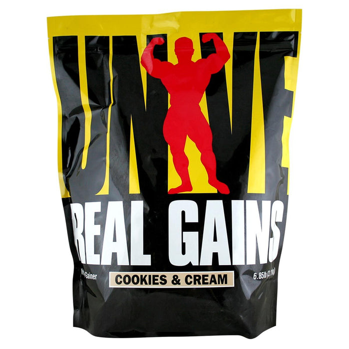 Universal Sports Nutrition & More Cookies & Cream Universal Real Gains 6.85 Lbs (580731699244)