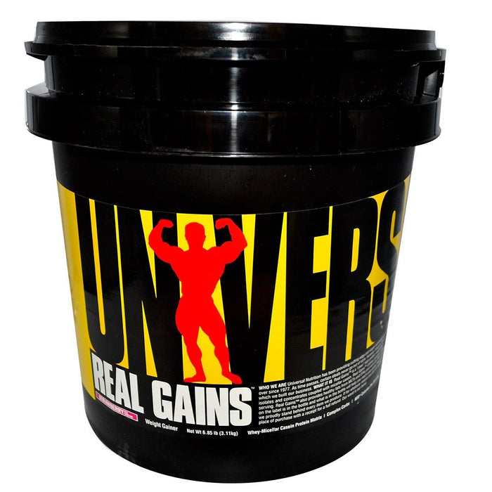 Universal Sports Nutrition & More Strawberry Universal Real Gains 6.85 Lbs (580731699244)