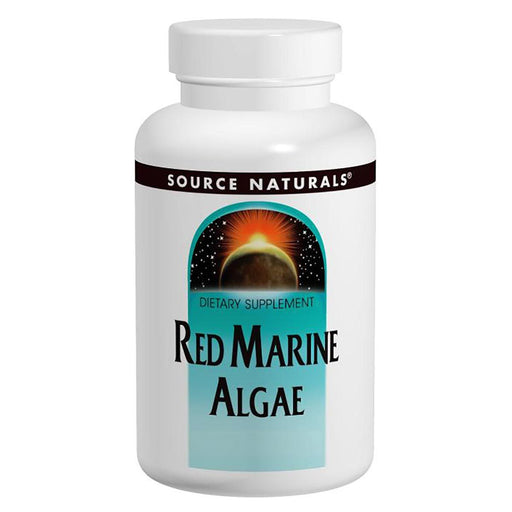 Source Naturals Vitamins, Minerals, Herbs & More Source Naturals Red Marine Algae 350 mg 45 Tablets (580763582508)