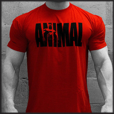 Universal Sports Nutrition & More Universal Animal Iconic Tee Red X-Large