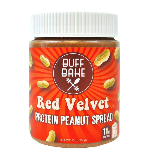 Buff Bake Sports Nutrition & More Buff Bake Red Velvet Protein Peanut Butter Spread 13oz (582533054508)