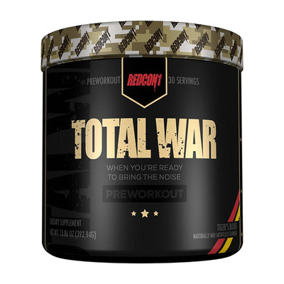 Redcon 1 Sports Nutrition & More Tiger's Blood Redcon1 Total War 30 Servings (582580305964)