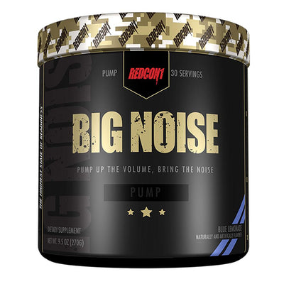 Redcon 1 Sports Nutrition & More Blue Lemonade Big Noise 30 Servings (582581485612)