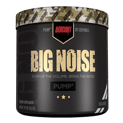 Redcon 1 Sports Nutrition & More Unflavored Big Noise 30 Servings (582581485612)