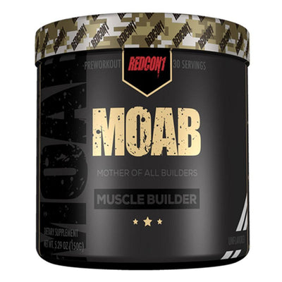 Redcon 1 Weight Gain Unflavored Redcon1 MOAB 30 Servings (1411787751468)