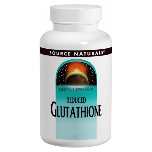 Source Naturals Sports Nutrition & More Source Naturals Glutathione (Reduced) 250mg 60 Caps (580865884204)