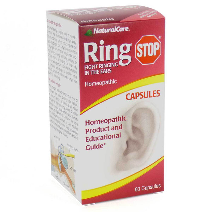 Natural Care Vitamins, Minerals, Herbs & More Natural Care Ring Stop (for ringing/buzzing ears) 60 caps (580702142508)