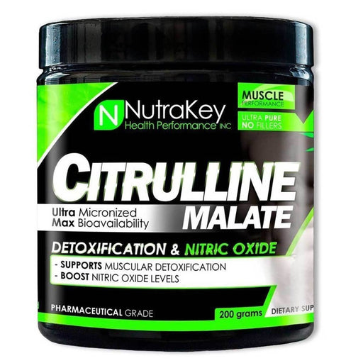 Nutrakey Sports Nutrition & More Nutrakey Citrulline Malate 200 Grams (582120308780)