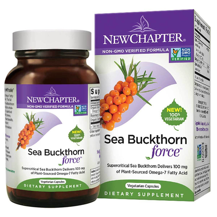 New Chapter Vitamins, Minerals, Herbs & More New Chapter Sea Buckthorn Force 30 Gels (581325258796)