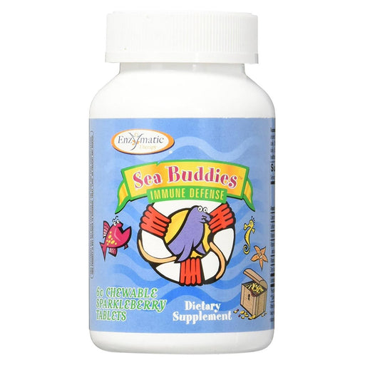 Enzymatic Therapy Vitamins, Minerals, Herbs & More Enzymatic Therapy Sea Buddies Immune Defense 60 Tabs (580661739564)