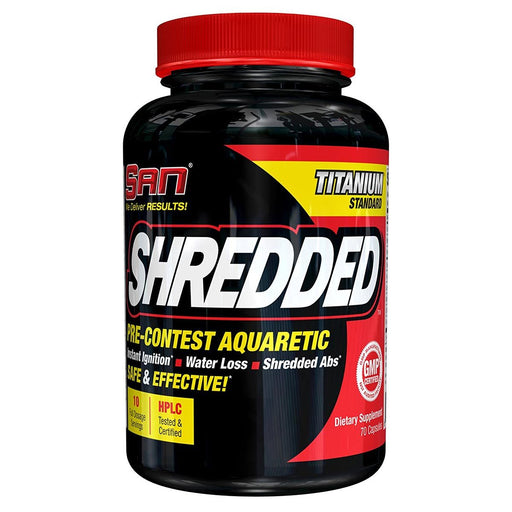 SAN Sports Nutrition & More SAN Shredded 70 Caps (581623971884)