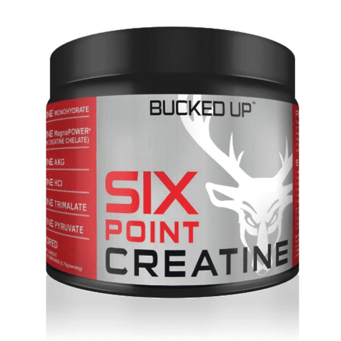 Bucked Up Creatine Bucked Up Six Point Creatine 172.5 Grams (4378665975923)