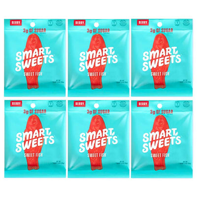 Smart Sweets Foods & - Juices Sweet Fish Smart Sweets Gummy Bears 12/Box (1134495072300)