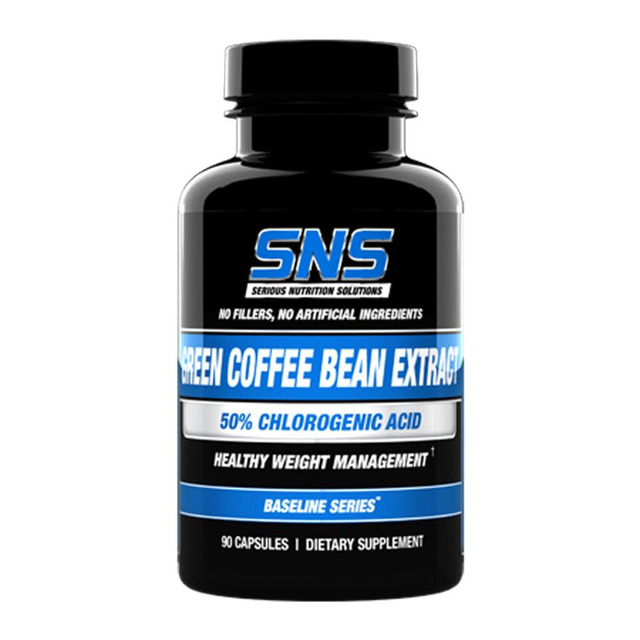 Serious Nutrition Solutions Fat Burner Serious Nutrition Solutions Green Coffee Bean Extract 90 Capsules (4482480898163)