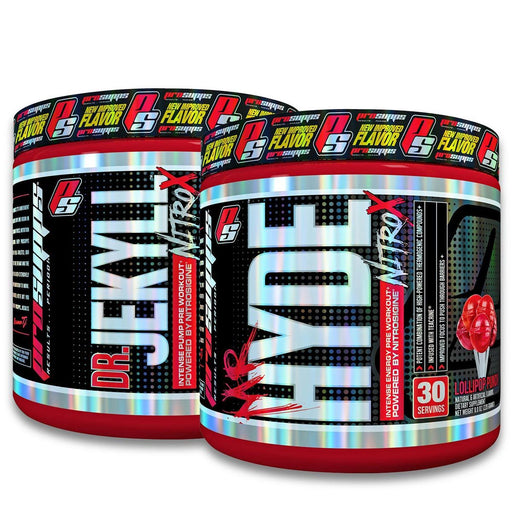 Pro Supps Sports Nutrition & More Pro Supps Good vs Evil Stack (Hyde & Jekyll Nitro X) (751720136748)