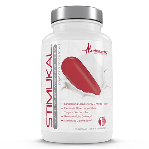 Metabolic Nutrition Sports Nutrition & More Metabolic Nutrition Stimukal 45 Caps (582522601516)